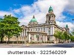 belfast city hall   northern...   Shutterstock . vector #322560209