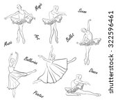 ballet wallpaper | Shutterstock .eps vector #322596461