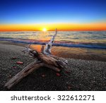 A Beautiful Lake Erie Sunset A...