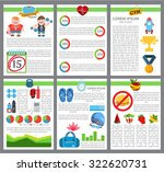 infographic healthy lifestyle ... | Shutterstock .eps vector #322620731