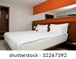 sleeping room in a hotel | Shutterstock . vector #32267392