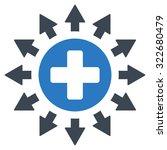 pharmacy distribution vector... | Shutterstock .eps vector #322680479