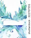 Aqua  Blue And Green Artistic...