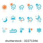 weather icons | Shutterstock .eps vector #32271346