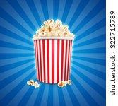 popcorn food   Shutterstock .eps vector #322715789