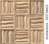 3d wooden pattern  seamless | Shutterstock . vector #322718621