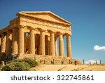 The Famous Temple Of Concordia...