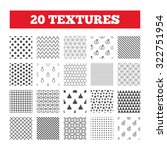 seamless patterns. endless...   Shutterstock .eps vector #322751954