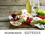 still life with various types... | Shutterstock . vector #322752215