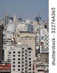 vertical view of buildings... | Shutterstock . vector #322764365
