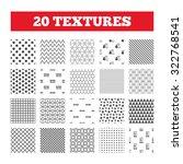 seamless patterns. endless... | Shutterstock .eps vector #322768541