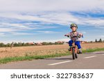 Little Boy On A Bicycle For The ...