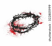crown of thorns | Shutterstock .eps vector #322805999
