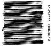 vector hand painted ink... | Shutterstock .eps vector #322842401