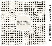 Set Of Four Vector Seamless...