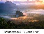 beautiful scenary in the north...   Shutterstock . vector #322854704