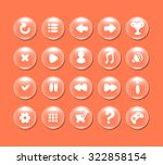 round buttons with icons for...