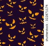 illustration halloween seamless ... | Shutterstock . vector #322871174