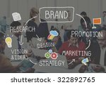 brand marketing advertising... | Shutterstock . vector #322892765