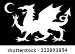 european dragon background   Shutterstock .eps vector #322893854
