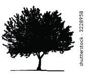 vector tree   Shutterstock .eps vector #3228958