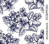 abstract elegance seamless... | Shutterstock .eps vector #322899281