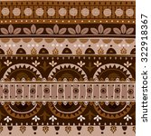tribal seamless pattern. it can ... | Shutterstock .eps vector #322918367