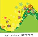 pretty background design | Shutterstock .eps vector #32292229