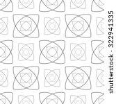 seamless monochrome abstract... | Shutterstock . vector #322941335