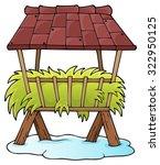 hay rack theme image 1   eps10... | Shutterstock .eps vector #322950125