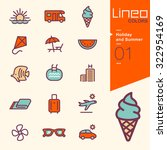 lineo colors   holiday and... | Shutterstock .eps vector #322954169