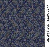 paisley design | Shutterstock .eps vector #322972199