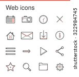 vector collection of flat line...