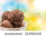 close up of ice cream | Shutterstock . vector #322985105