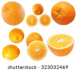orange isolated on white | Shutterstock . vector #323032469