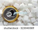 unhealthy food concept   sugar... | Shutterstock . vector #323040389