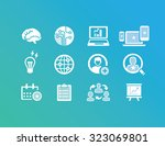 business   marketing icons   Shutterstock .eps vector #323069801