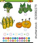 cartoon vector illustration of... | Shutterstock .eps vector #323082275