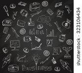 successful business funding... | Shutterstock . vector #323106434