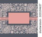template frame  design for... | Shutterstock .eps vector #323134637