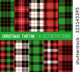 Christmas Tartan Plaid Pattern...