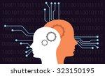 artificial intelligence | Shutterstock .eps vector #323150195