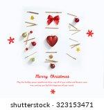 christmas love | Shutterstock . vector #323153471
