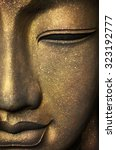 the face of buddha | Shutterstock . vector #323192777