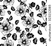 seamless floral ornate  pattern ... | Shutterstock . vector #323212085