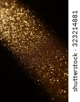 glitter vintage lights... | Shutterstock . vector #323214881