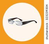 glasses theme elements   Shutterstock .eps vector #323239304