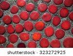 Colorful Cobblestones In A...