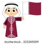 qatar national day celebration | Shutterstock .eps vector #323285009