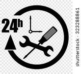 service sign | Shutterstock .eps vector #323288861
